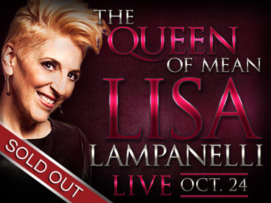 Comedienne Lisa Lampanelli performed live at Tulalip Resort Casino October 24, 2014