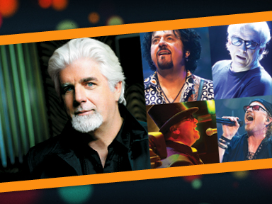Michael McDonald and Toto performed live at the Tulalip Amphitheater August 3, 2014