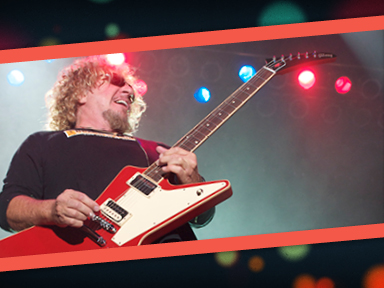 Sammy Hagar featuring Michael Anthony, Jason Bonham & Vic Johnson performed live at the Tulalip Amphitheater August 14, 2014