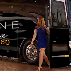 Tulalip Resort Casino Luxline -- Sit back, relax and enjoy the ride. Operating 5 days a week (Sunday – Thursday), the Tulalip Luxeline offers pick up and drop off services from 3 convenient Puget Sound locations including Seattle International District, Northgate and Everett.