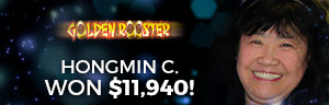 Play slots at Tulalip Resort Casino just north of Bellevue near Marysville, WA on I-5 like Hongmin C. winning a huge jackpot on Golden Rooster!