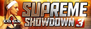 Come in to Tulalip Resort Casino north of Tacoma near Seattle for MMA Supreme Showdown 3 - get your tickets