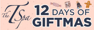 At Tulalip Resort Casino T-Spa 12 Days of Giftmas - 20% off brands as noted on specific days excluding Gift Card sales.