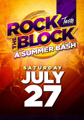 Play slots at Tulalip Resort Casino south of Vancouver, BC near Seattle on I-5, and join the fun at the Rock The Block Summer Bash on Saturday, July 27 - get your tickets!