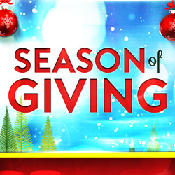 At the fabulous Tulalip Resort Casino south of Richmond, BC near Seattle on I-5 book your Season of Giving stay!