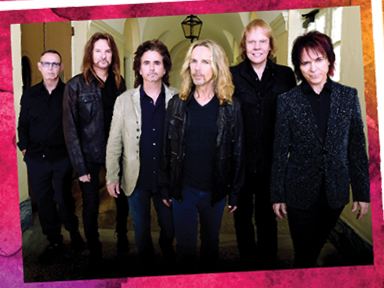 Styx performed on July 24th, 2016 at Tulalip Amphitheatre near Seattle on I-5!