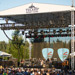 Live band performance outdoors at the Tulalip Amphitheatre