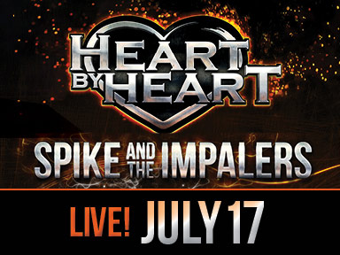 Heart By Heart & Spike and the Impalers performed July 17th, 2015 live outdoors at the Tulalip Amphitheatre