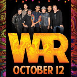 Relax and play slots at Tulalip Resort Casino south of West Vancouver, BC near Seattle on I-5, and experience War playing live in the Orca Ballroom - get your tickets!