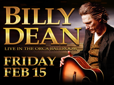 Play slots at Tulalip Resort Casino south of Vancouver near Seattle, and see great performances like Billy Dean on February 15, 2019!