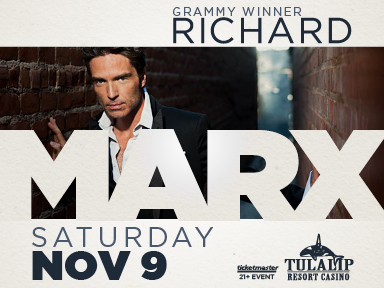 Play slots at Tulalip Resort Casino south of Vancouver, BC near Seattle on I-5, and experience live music like Richard Marx in the Orca Ballroom!