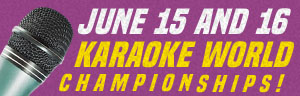 Join us at Tulalip Resort Casino just north of Bellevue and Seattle on I-5 for the Karaoke World Championships - get your reservations!