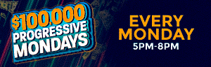 THIRTEEN LUCKY WINNERS will have the chance to win a progressive cash prize up to $25,000 every Monday in September! Progressive starts at $5,000 and grows by $500 every 15 minutes at the Tulalip Resort Casino in Marysville, only 45 minutes from Seattle.