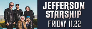 Play slots at Tulalip Resort Casino just north of Bellevue and Seattle on I-5, and enjoy Jefferson Starship live in concert in the Orca Ballroom on Friday, November 22 - get your tickets!