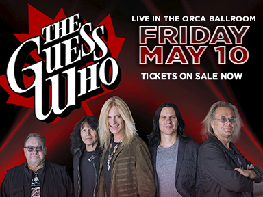 Play slots at Tulalip Resort Casino south of Vancouver, BC near Seattle on I-5, and enjoy live performances like The Guess Who on May 10, 2019!