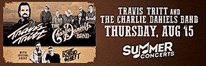 Enjoy Tulalip Resort Casino south of Richmond, BC near Seattle on I-5 with Travis Tritt and The Charlie Daniels Band playing in the Tulalip Amphitheatre Thursday, August 15 - get your tickets!