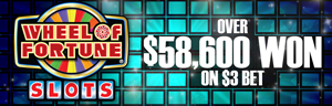 Play slots at Tulalip Resort Casino south of Richmond, BC near Seattle on I-5 like our recent Wheel of Fortune huge jackpot winner with a $3 bet!