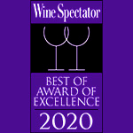 Tulalip Resort Casino received the Wine Spectator Award of Excellence in 2020