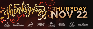 Thanksgiving at Tulalip Resort Casino near Seattle includes many great dishes at our wonderful dining establishments!